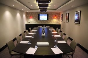 Meeting room facilities at Gonville Hotel