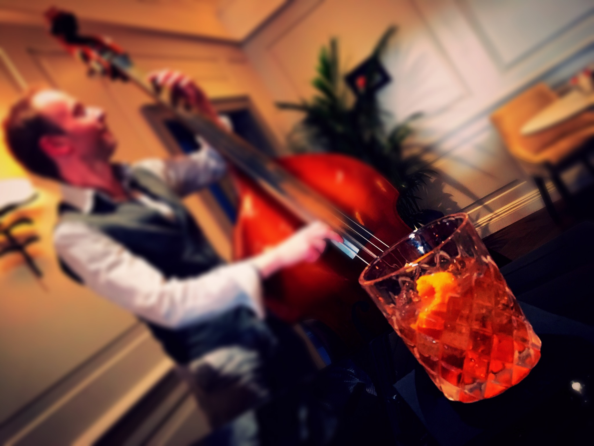 Live jazz in the Atrium Bar