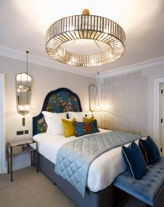Shot of a feature room in Gresham House