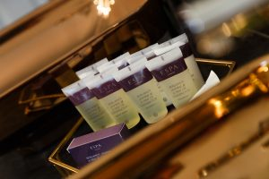 Espa toiletries as standard in all feature bedrooms