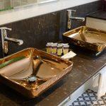 Double copper sinks