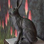 Hare sculpture decoration in Gresham House
