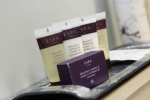 Espa toiletries as standard in feature bedrooms