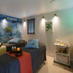 A shot of a treatment room in Gresham House Wellness