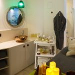 A treatment room in Gresham House Wellness