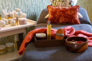 Massage bed in Gresham House Wellness Spa