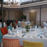 The Atrium Brasserie, arranged for a wedding reception
